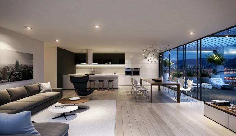 salas modernas-decoracion-elegante