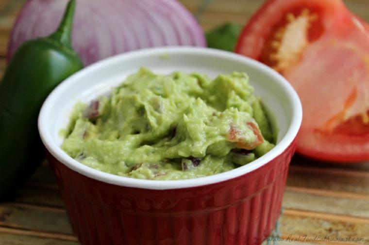 salsa verde aguacate