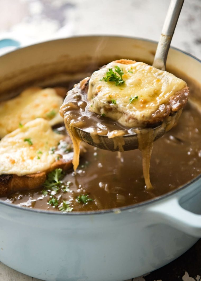 sopa de cebolla receta