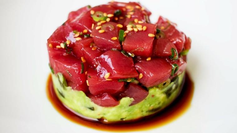 tartar de atun rojo-receta