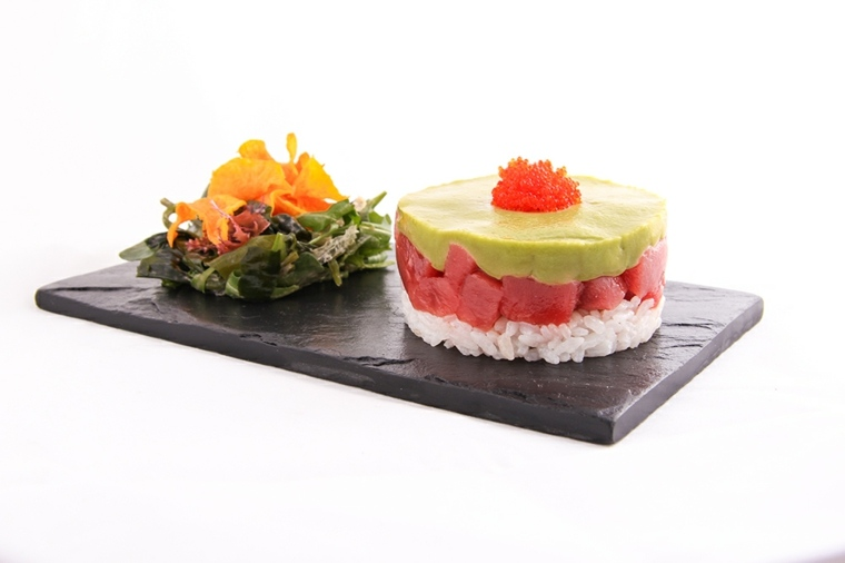 tartar de atun rojo y aguacate-receta