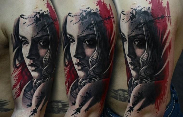 tatuaje-mujer-opciones-originales-rostros