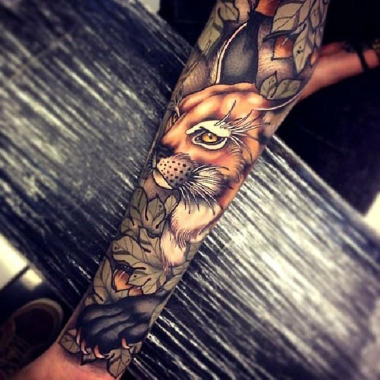 tatuaje-neo-tradicional-animal