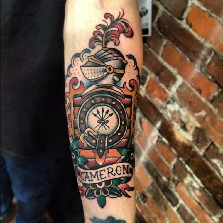 tatuaje-neo-tradicional-caballero