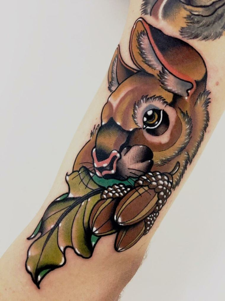 tatuaje-neo-tradicional-conejo