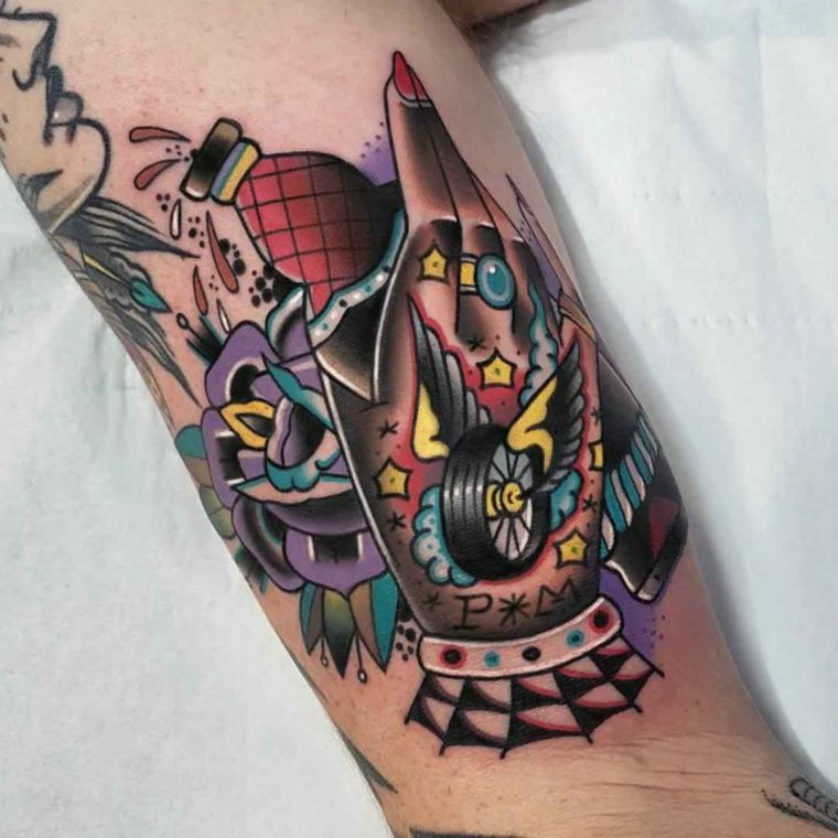 tatuaje-neo-tradicional-diseño-Eddie-Czaicki