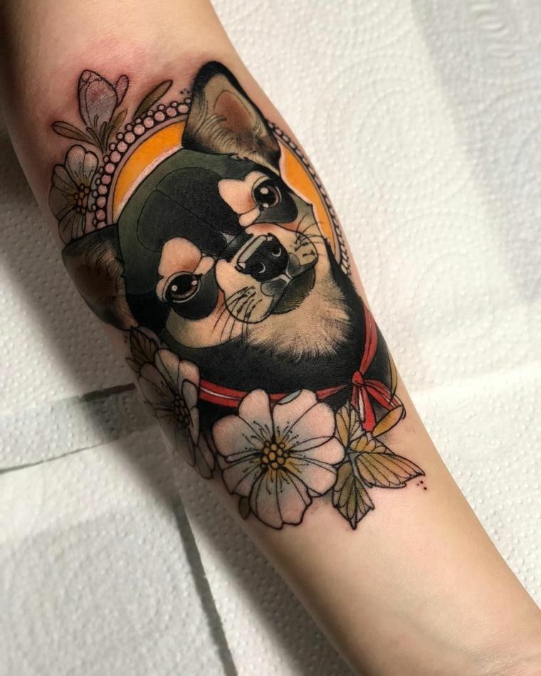 tatuajes-neo-tradicionales-cachorro