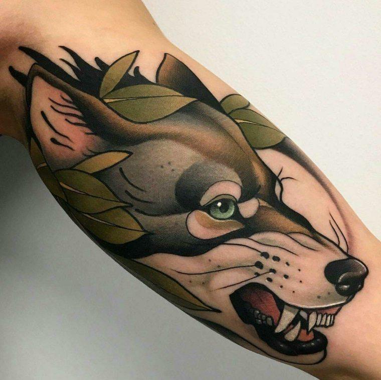 tatuajes-neo-tradicionales-perro