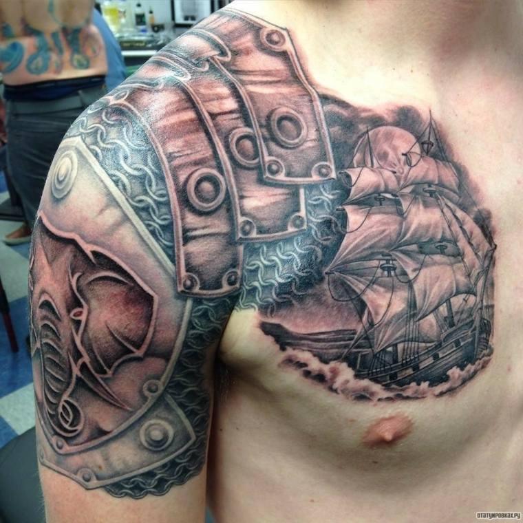 tatuajes-para-el-hombro-ideas-barco