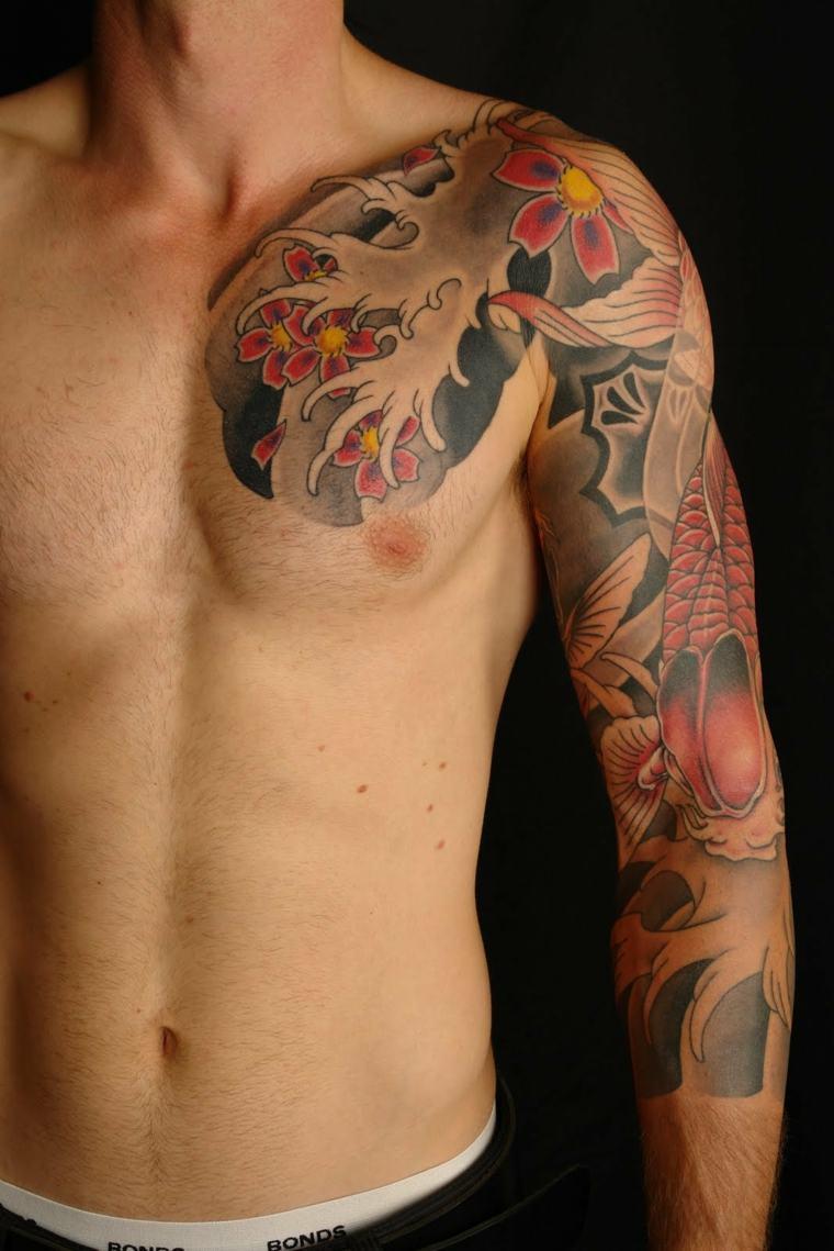 tatuajes-para-el-hombro-ideas-combinacion-colores
