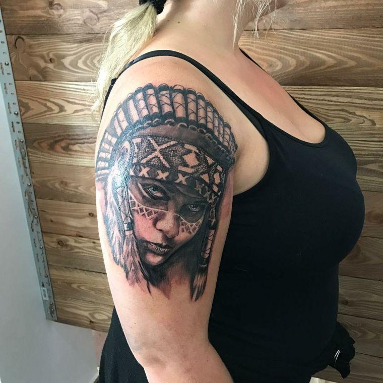 tatuajes-para-el-hombro-mujer-india