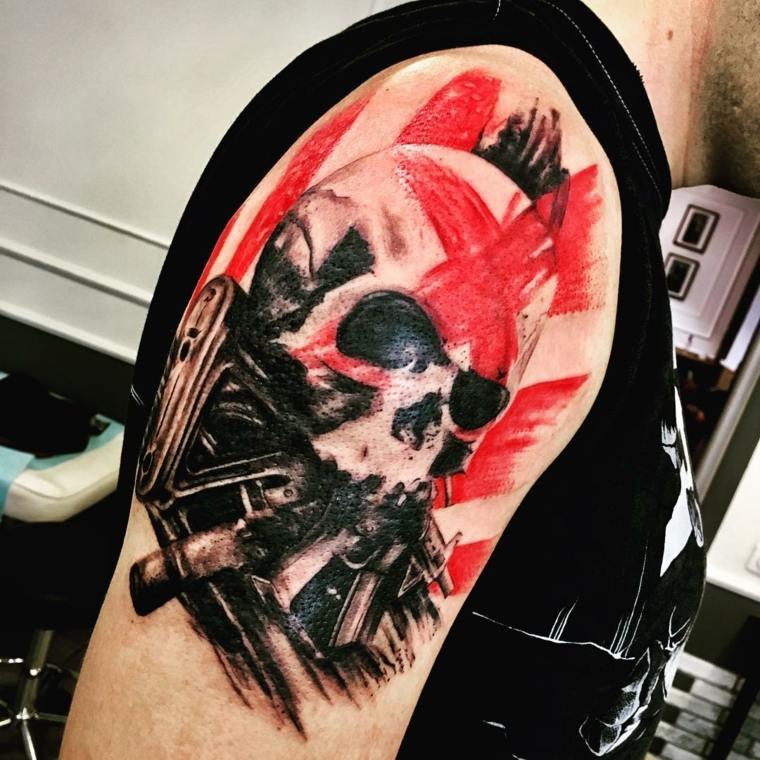 tatuajes-para-el-hombro-originales-calavera