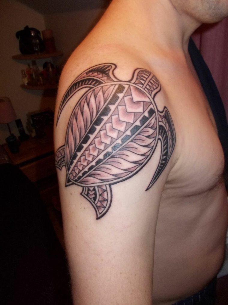 tatuajes-para-el-hombro-tortuga