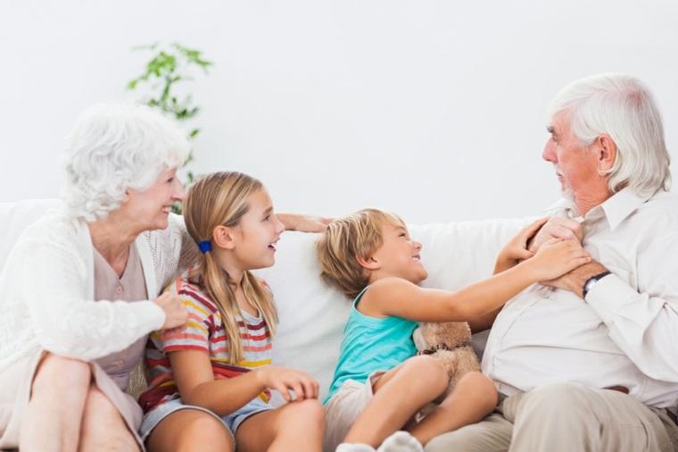 Diversión con los abuelos