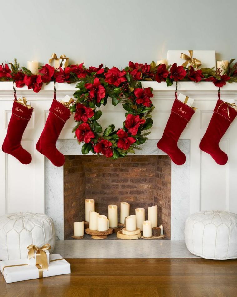 adornos navidenos para puertas-decorar