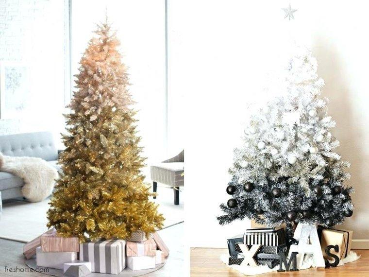 adornos para arbol de navidad-bicolor