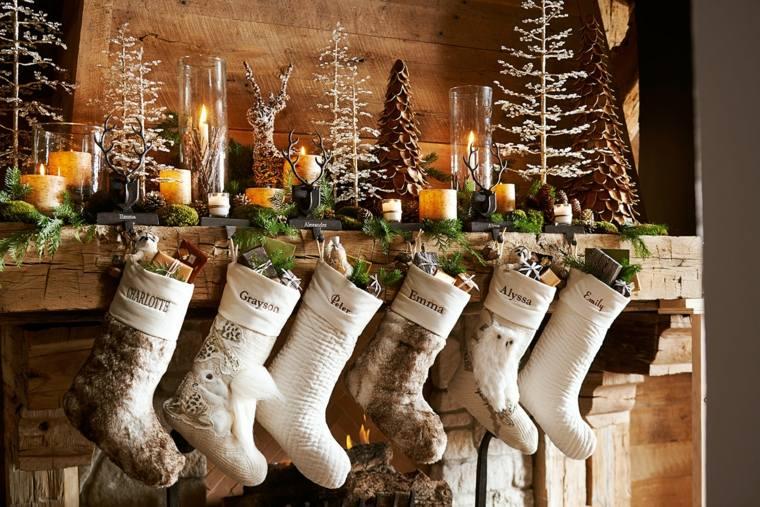adornos para arbol de navidad-chimenea