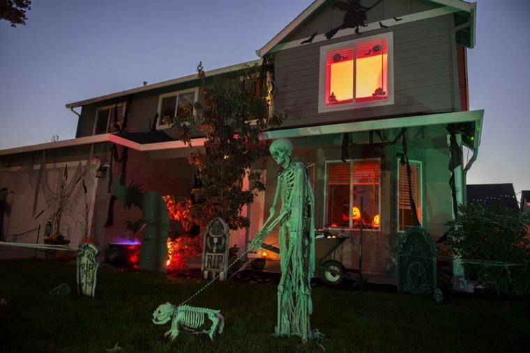 adornos para halloween-decorar-exterior
