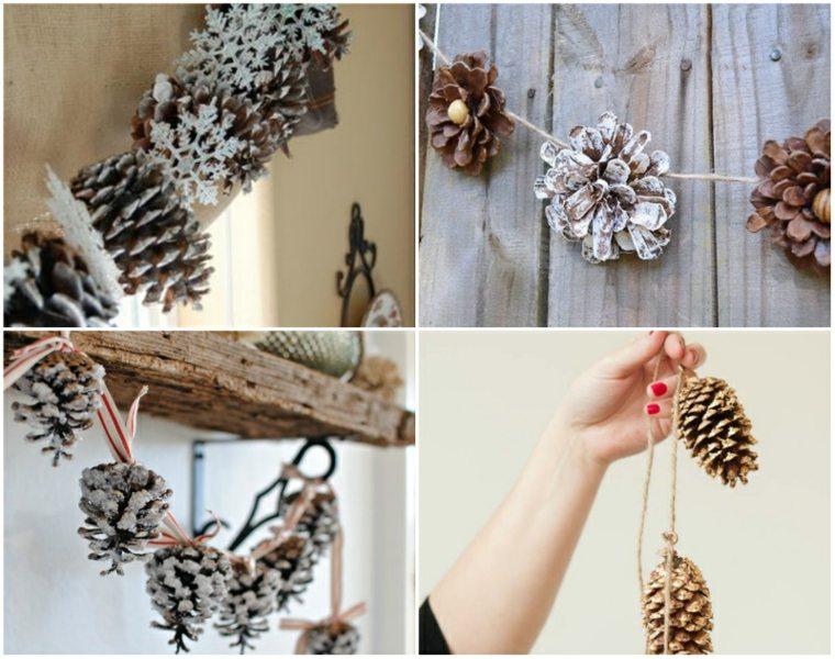 adornos para navidad-decorar-guirnaldas