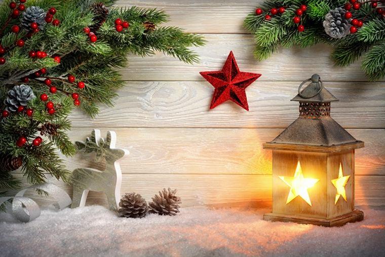 arreglos de navidad-estrellas-exterior