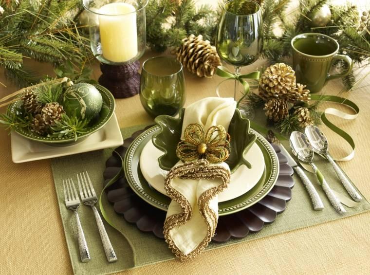 arreglos de navidad-mesa