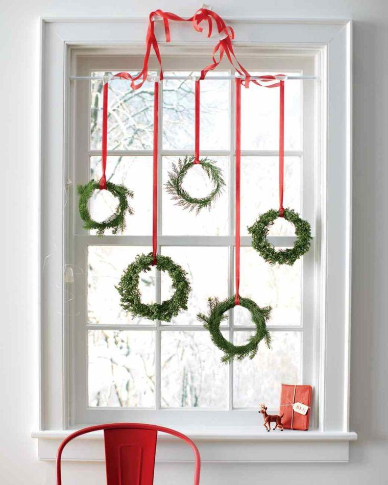 arreglos de navidad-originales-ventana