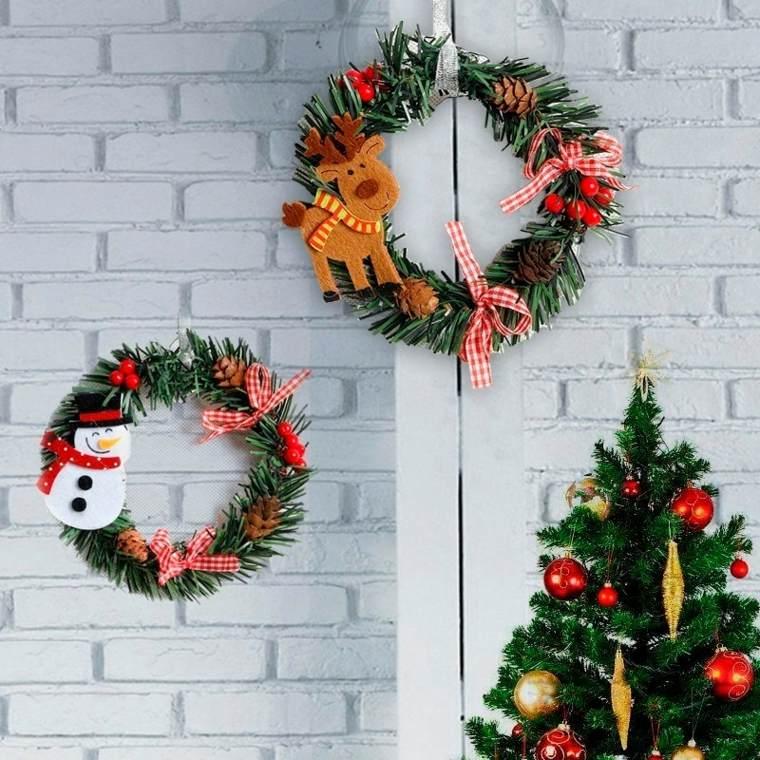arreglos de navidad-pared
