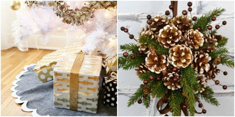 arreglos navidenos para mesa-decorar