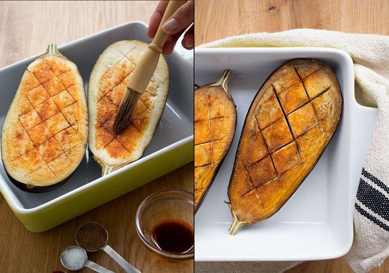 berenjenas rellenas de atún-receta-opciones-estilo-mediteraneo
