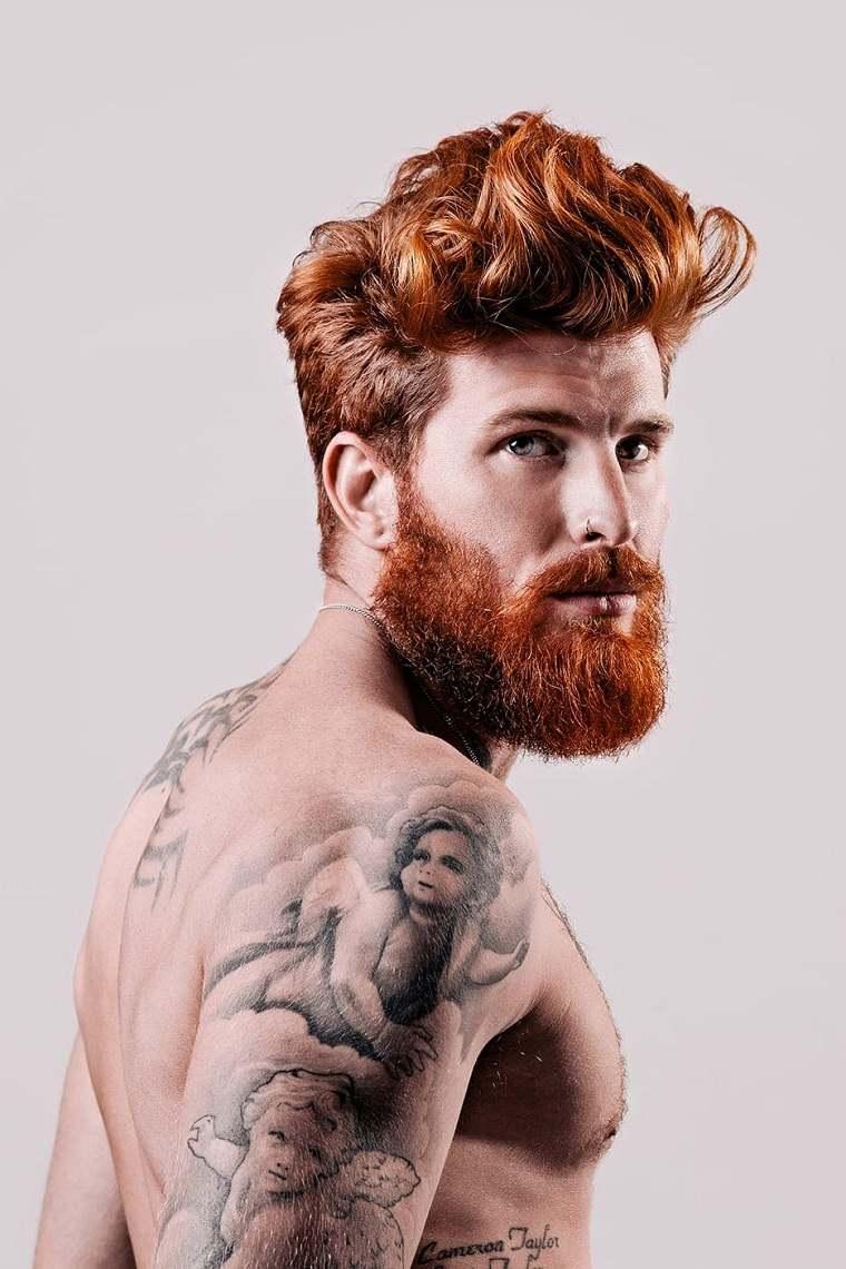 cabello-largo-barba-color-original