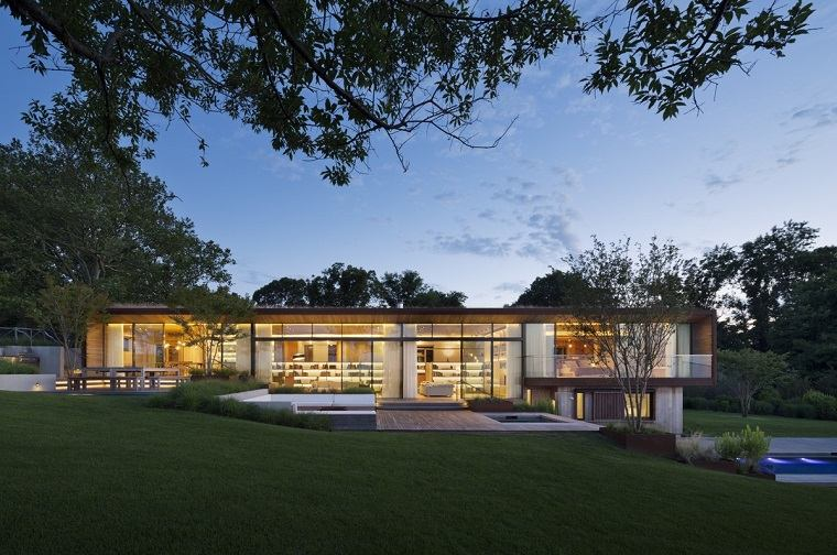 casas ecologicas arboles patio