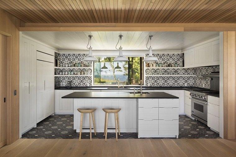 cocina-blanco-negro-moderna