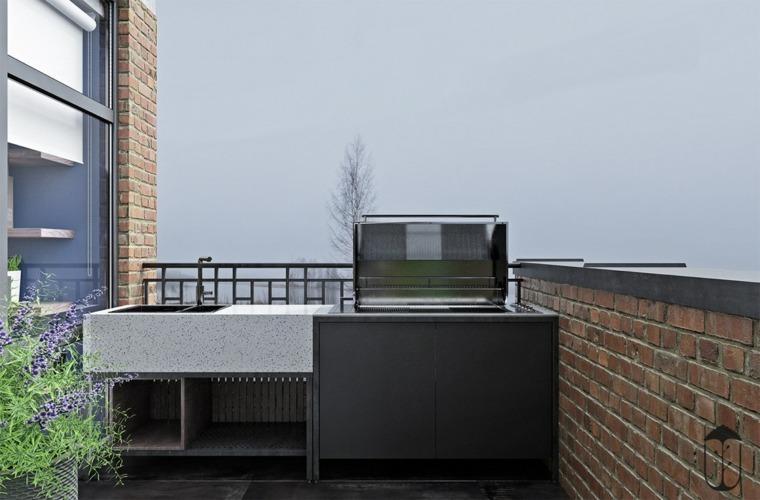 cocina-exterior-en-el-balcón