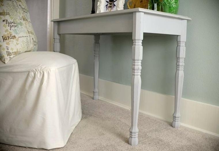 mesa gris