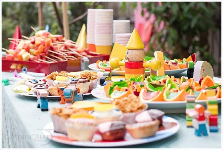 comida para fiestas infantiles