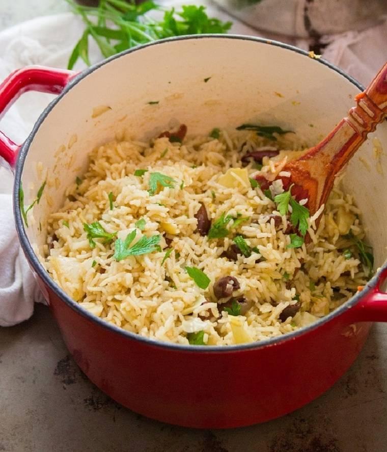comida-vegana-berenjena-ideas-arroz