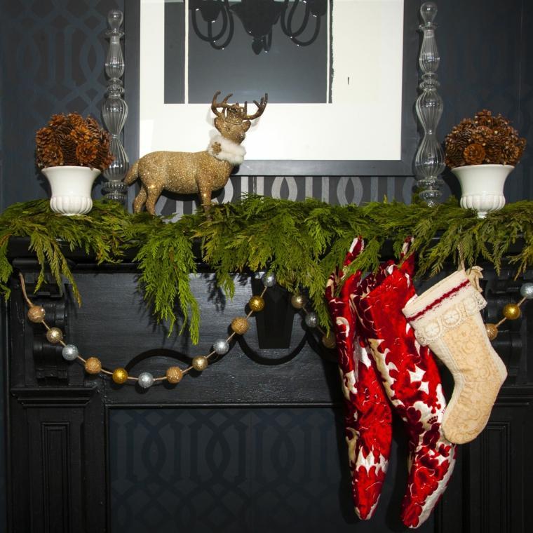 como decorar en navidad-casa