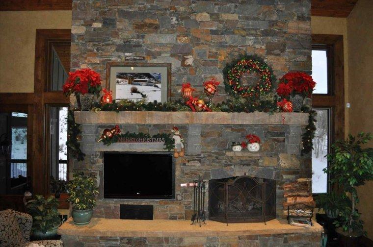 como decorar en navidad-interior
