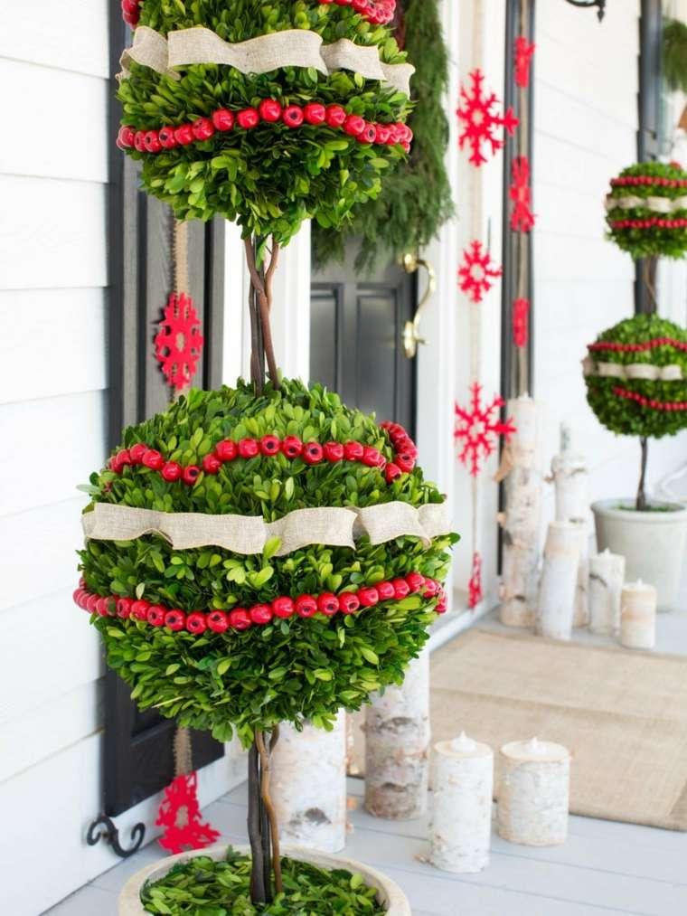 como hacer adornos navidenos-exterior