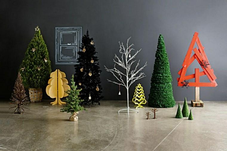 Temas de Navidad con adornos modernos