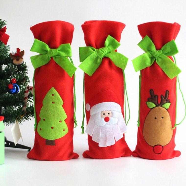 cosas de navidad-decorar-botellas