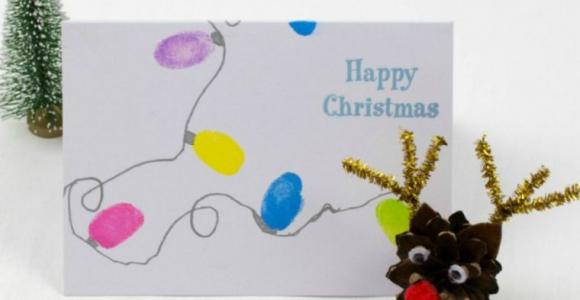 Tarjetas de feliz navidad - Tutoriales fáciles y originales