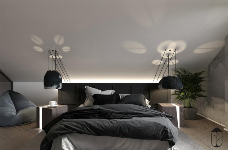 decoración minimalista dormitorio