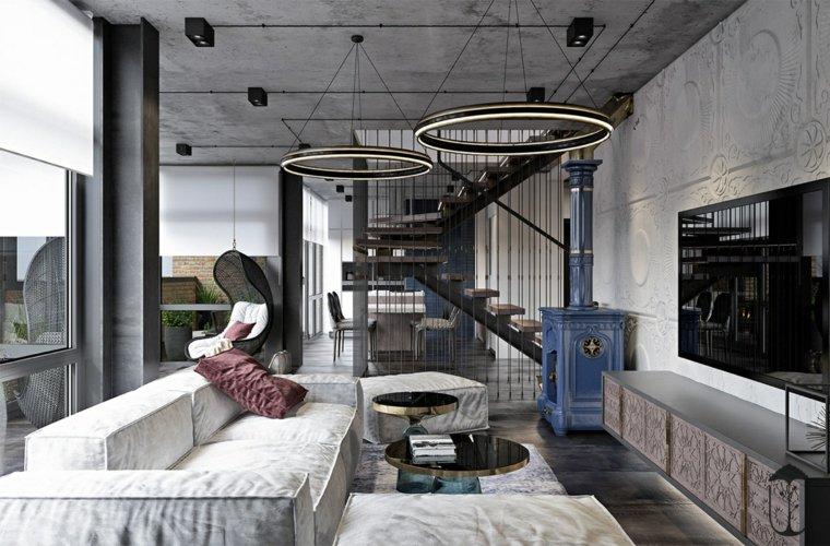 decoración minimalista espacio-abierto