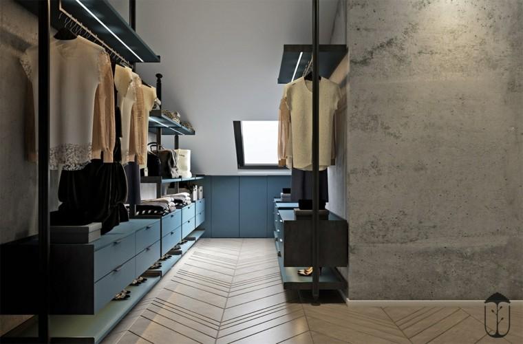 decoración minimalista vestuario