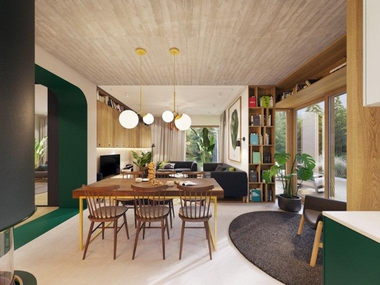 decoracion-de-salas-y-comedores-acentos-modernos
