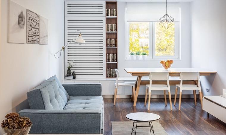 decoración de salas y comedores-apartamento-pequeno
