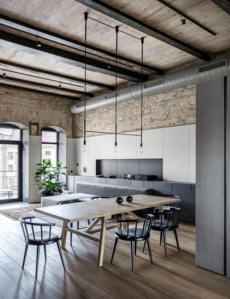 decoracion-de-salas-y-comedores-muebles-madera-modernos