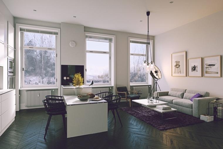 decoracion-de-salas-y-comedores-piso-negro