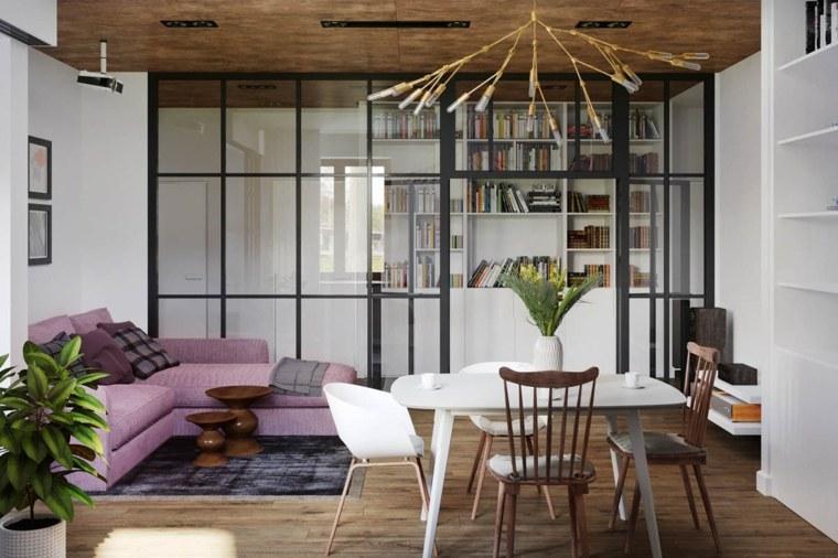 decoracion-de-salas-y-comedores-sofa-rosa